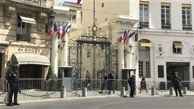 IS敗退但風險未降 法國一年阻13起恐攻極端組織伊斯蘭國今年在根據地節節敗退,但法國境內恐怖攻擊風險仍然很高,今年一整年,法國就阻止13起可能發生的恐攻計畫。圖為主管安全事務的內政部。中央社記者曾依璇巴黎攝 106年12月30日