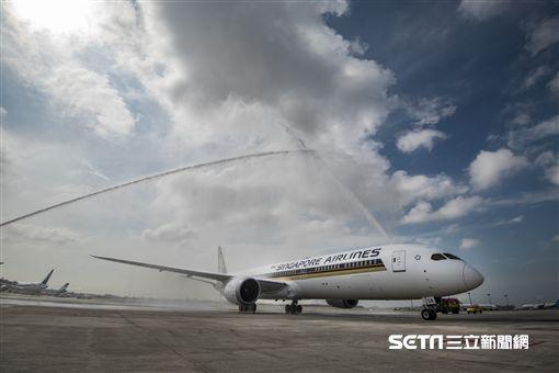 新加坡航空,新航,波音,787-10,經濟艙。(圖/新航提供)