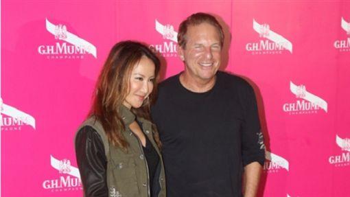 ▲李玟與老公Bruce出席香港中環派對時,透露已接受人工受孕療程。(圖/翻攝自IG)