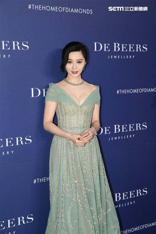 范冰冰來台出席高級珠寶品牌新系列發布會