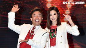 吳宗憲稱讚安心亞從舉牌妹到戲劇女一實至名歸。(圖/TVBS提供)