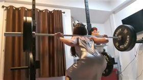 泰國,正妹,重訓,蜜桃臀,顏值,逆天 圖/翻攝自YouTube