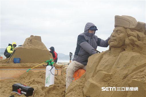 2018福隆國際沙雕藝術季,沙雕季,福隆海水浴場。(圖/福容大飯店提供)