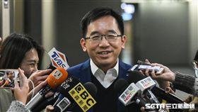 陳致中22日拜訪台北市長柯文哲。 圖/記者林敬旻攝
