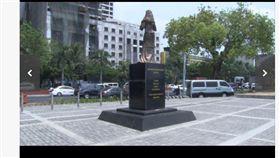 菲律賓慰安婦銅像遭破壞(圖/翻攝自日本雅虎)