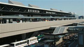 成田機場天花板掉落,砸到路過大叔縫2針。(示意圖/翻攝維基百科)