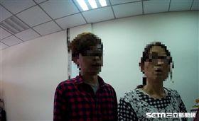台中市,林姓婦人接到詐騙電話,求助台中警察。翻攝照片