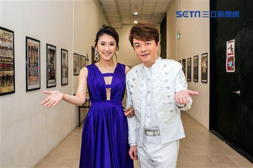 翁立友新加坡開唱,謝金晶站台(圖/LINWEI義法品牌婚紗提供)