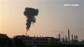 燃燒塔冒「噴火煙」 中油遭罰1百萬 SOT 高雄,林園,中油,新三輕廠,環保局,空氣汙染,最美風景