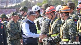 台北市長柯文哲主持防災演練首納火山演習 北市府提供
