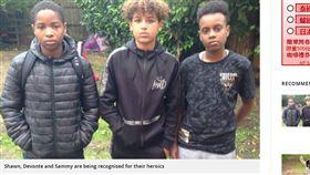 英國,少年,輕生,自殺,陌生人,勇敢,放學,頒獎,節目,專訪 https://www.hertfordshiremercury.co.uk/news/hertfordshire-news/hero-schoolchildren-who-saved-man-1390011