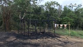 劇組滿州拍火燒屋  風勢大延燒3人灼傷