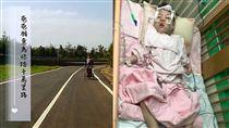 父母騎單車帶4歲罕病女環島/臉書粉絲專頁「芊芊小羽」
