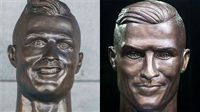 1年後作者重做C羅雕像雪恥(圖/翻攝自European Football 推特)https://twitter.com/European_Footy_/status/979748721851355136