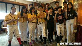 ▲參加第一屆大專軟式棒球聯賽的各校代表。(圖/記者林辰彥攝影)