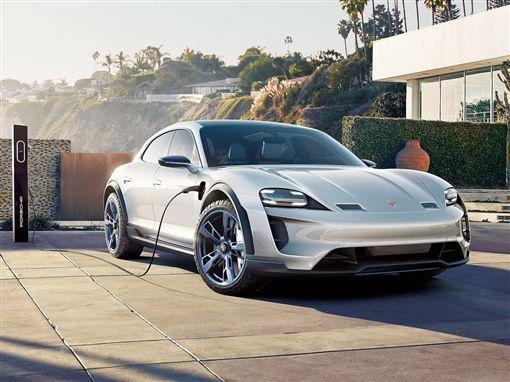 電動跨界概念獵跑Porsche Mission E Cross Turismo Concept車訊網