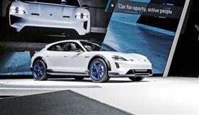 電動跨界概念獵跑Porsche Mission E Cross Turismo Concept 車訊網