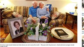 離婚50年後再婚 美夫婦要陪對方走生命最後一程(圖/翻攝自Fox News)