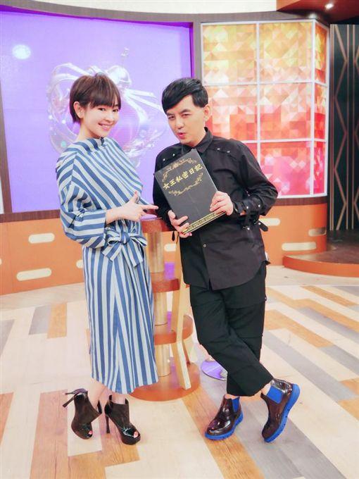 黃子佼,蔡燦得(圖/翻攝自臉書)