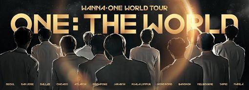Wanna One將舉辦世界巡迴演唱。(圖/翻攝自臉書)