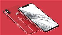 iPhone 8 紅色版 翻攝網路