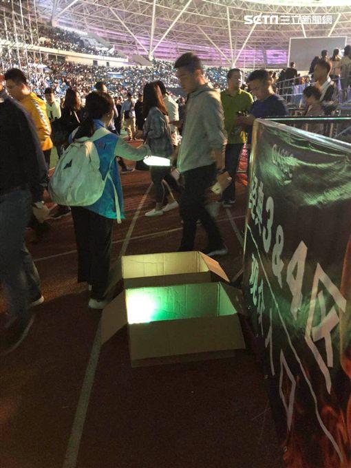 歌神,張學友,演唱會,小巨蛋,互動螢光棒,回收,台北