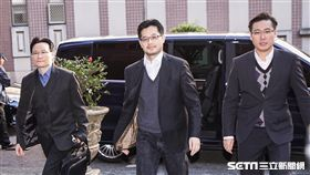 遠雄人壽總經理趙信清就大巨蛋案出庭。 圖/記者林敬旻攝