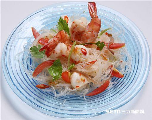 泰國藍象餐廳料理。(圖/台北晶華提供)