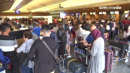 清明連假將至 桃園機場出國人潮增-機場-出國-旅客-