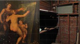 天上掉下來的禮物!壁櫥撿到名畫 至少價值1.2億 圖/翻攝自iowa public radio