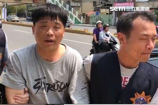 新竹隨機攻擊嫌犯遭逮 竟是高雄殺人未遂通緝犯(圖/翻攝畫面)