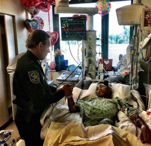 佛羅里達,美國,校園槍擊,Anthony Borges,英雄,屠殺/broward sheriff 推特