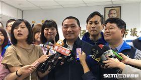 侯友宜初選勝出!市議會開記者會喊團結 盧冠妃攝