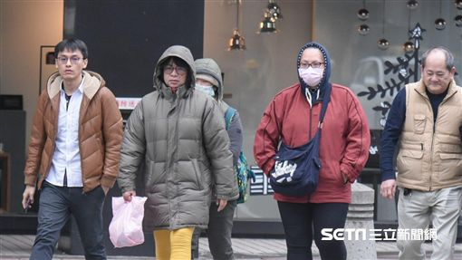 冬天,寒流,冷氣團,冷鋒,天氣,氣溫,低溫,急凍 圖/記者林敬旻攝