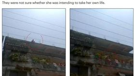 印度12歲少女不想被性侵,竟直接從屋頂一躍而下(圖/翻攝自每日郵報)