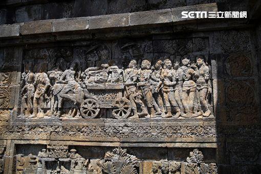 印尼日惹,佛教,婆羅浮屠。(圖/記者簡佑庭攝)
