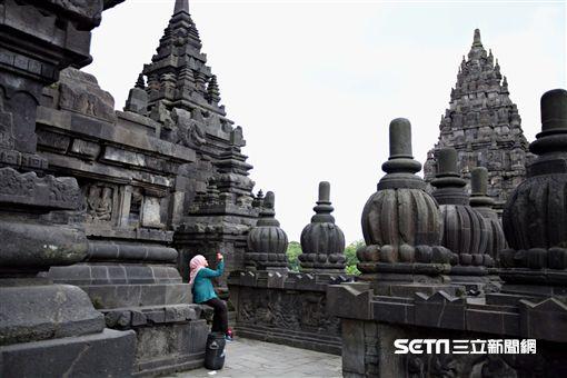 印尼日惹,印度教,普蘭巴南。(圖/記者簡佑庭攝)