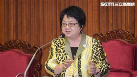 台北市議會議長吳碧珠。 圖/記者林敬旻攝