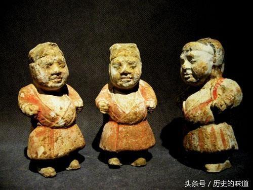 唐代墓葬 侏儒陶俑