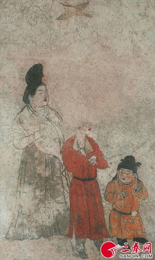 唐代宮女與侏儒