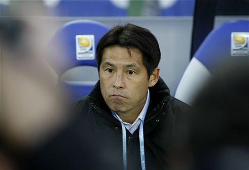 日本足球隊新任國家隊總教練西野朗。(圖/路透社/達志影像)