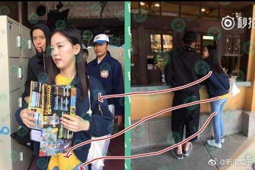 王大陸與韓國女星姜漢娜 專挑生猛海鮮(圖/翻攝自微博)