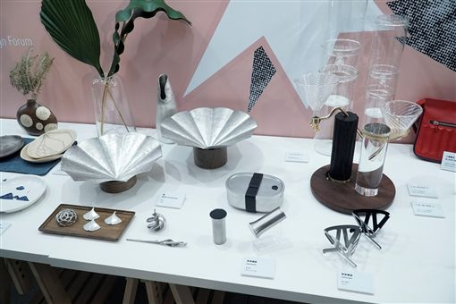 松菸展區將展出各式工業設計作品。(圖/葉立斌攝)
