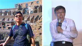 柯文哲的室友兼同學、醫師許長禮(左)、柯文哲(右) (組圖/翻攝自許長禮臉書、資料照)