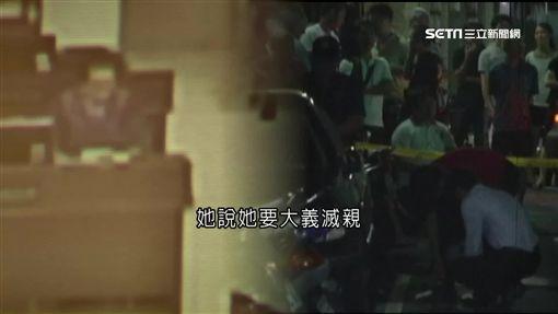 陳昱安冷血百刀砍父,還說不後悔,母親痛心要求判處死刑。