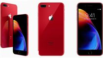 iPhone 8  iPhone 8 Plus (PRODUCT)RED Special Edition 紅色 翻攝網路 蘋果