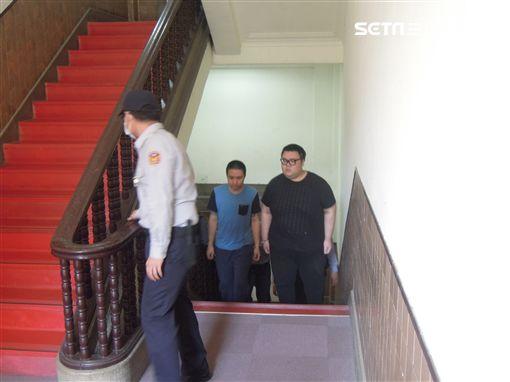 土豪哥朱家龍,高院提訊出庭。翻攝照片