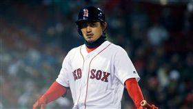 ▲波士頓紅襪內野手林子偉成為本季首位大聯盟出賽台灣球員。(圖/美聯社/達志影像)
