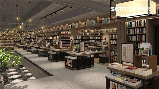蔦屋書店,TSUTAYA BOOKSTORE,台中市政店。(圖/得利影視提供)