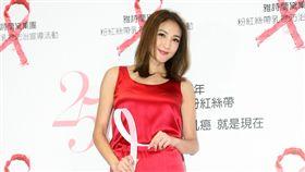 20171019- 曹格 吳速玲 陳思璇出席粉紅絲帶晚宴